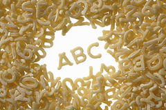 Letter soup Royalty Free Stock Photo
