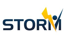 Letter Storm Company Royalty Free Stock Photography