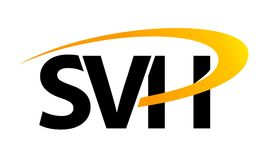 Letter SVH Solution Royalty Free Stock Images