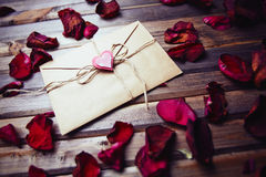 Letter for sweetheart Royalty Free Stock Photo