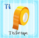 Letter T Royalty Free Stock Image