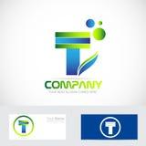 Letter T logo stock illustration