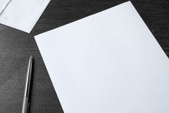 Letter. Take the time to write a letter to a friend Stock Photos