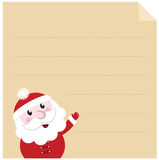 Letter to Santa. Royalty Free Stock Image