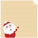 Letter to Santa. royalty free illustration