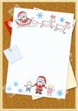 Letter to Santa Claus Stock Photos