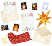 Letter to Santa Claus Stock Photography
