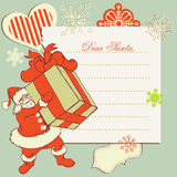 A letter to Santa Claus Royalty Free Stock Photo