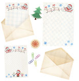 Letter to Santa Claus Royalty Free Stock Photos