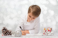 Letter to Santa Claus. Royalty Free Stock Photography