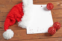 Letter to the Santa Claus Stock Images