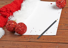 Letter to the Santa Claus Stock Photo