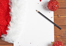 Letter to the Santa Claus Stock Image