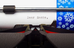 Letter to Santa Claus Royalty Free Stock Photos