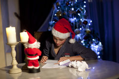 Letter to Santa Claus Stock Photos