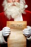 Letter to Santa Royalty Free Stock Photos