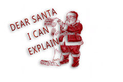 Letter to Santa Royalty Free Stock Photo