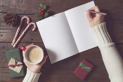 Letter to Santa Stock Photos