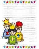 Letter to the Three Kings Stock Photos