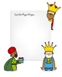 Letter to the Three Kings Royalty Free Stock Image