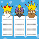 Letter to the Three Kings Royalty Free Stock Photography