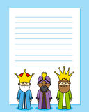 Letter to the Three Kings Stock Photo