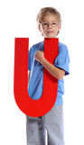 Letter U Stock Photos