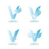 Letter V logo Royalty Free Stock Image