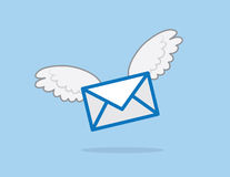 Letter Wings Stock Image