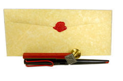 Letter Writing Royalty Free Stock Image