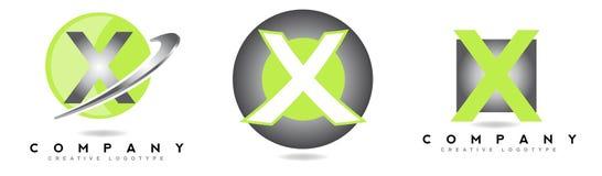 Letter X logo Stock Photo