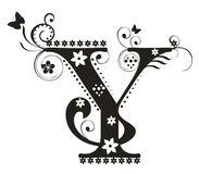 Letter Y vector illustration