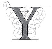Letter Y Stock Photography