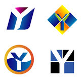 Letter Y Logo Icon Royalty Free Stock Images