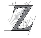 Letter Z Royalty Free Stock Images