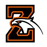Letter Z with eagle head. Great for sports logotypes and team mascots vector illustration