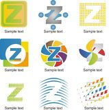 Letter Z Logo Stock Photography