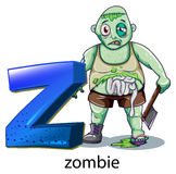 A letter Z for zombie Stock Images