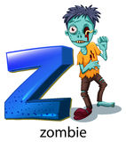 A letter Z for zombie Royalty Free Stock Images