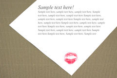 Lettera Fotografia Stock