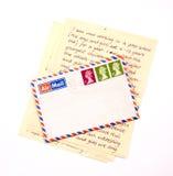 Lettera dall'Inghilterra Fotografia Stock
