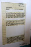 Lettera dei prigionieri dell'isola di Robben Immagini Stock Libere da Diritti