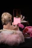 Lettera del biglietto di S. Valentino Fotografie Stock Libere da Diritti