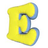 Lettera del cuscino di alfabeto Fotografia Stock Libera da Diritti