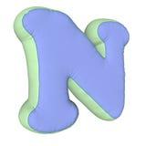 Lettera del cuscino di alfabeto Immagine Stock Libera da Diritti