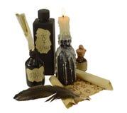 Lettera della strega Immagine Stock