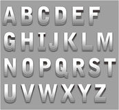 Lettera di alfabeto immagini stock