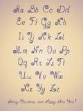 Lettera di alfabeto della penna Immagine Stock Libera da Diritti