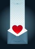 Lettera di amore royalty illustrazione gratis