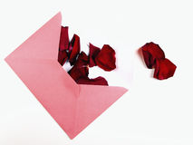 Lettera di amore Immagini Stock Libere da Diritti